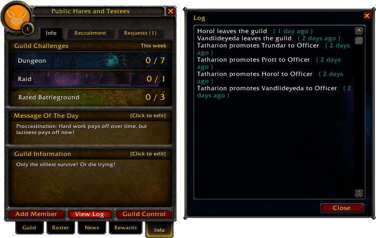 Guild-Info tab-View Log 4 1 13850