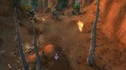 Battle near base of Cliffwalker Post (Cataclysm)