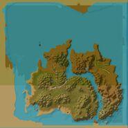 Gillijim's Isle Map