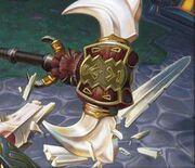 Vengeful Gladiator's Cleaver TCG