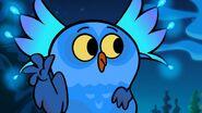 S1e12b Owl pretending to zip mouth shut 2
