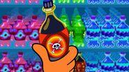 S1e10a Bottle showing a poison symbol