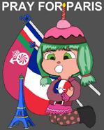 Pray for Paris - Candlehead