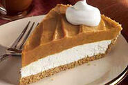 Creamy Two-Layer Pumpkin Pie