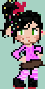 Pixel vanellope by paramoreloverxx-d6itdde