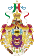 Middle Coat of Arms of the Empire of Italy