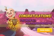 Winning Game Screen