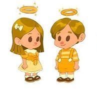 Angel kids art