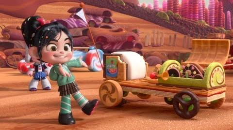 "Wreck-It Ralph ""Likkity Split"" Clip"