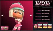Taffyta Stats