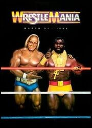 WWE Wrestlemania 1