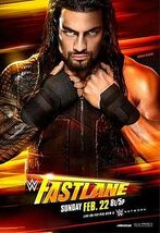 WWE Fastlane 2015 Official Poster