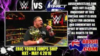 WWE vs TNA - Eric Young Jumps Ship (WRESTLEPEDIA)