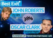 WRIXAS Winter 14 Best Exit winner
