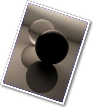 Balls blk white