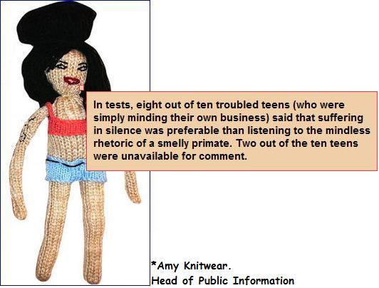Amy knitwear out of ten