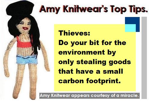 Amy knitwears thieves