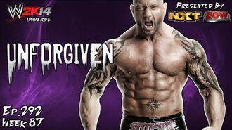 WWE 2K14 Universe (Ep.292 - Unforgiven)