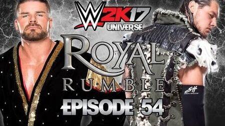 WWE 2K17 Universe - EPISODE 54 - WEEK 14 Royal Rumble 2017