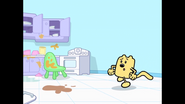 182 Wubbzy Runs In Kitchen
