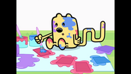 037 Wubbzy Paints Card