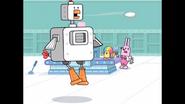 176 Robo-Cluck Hops Across Room