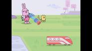 176 Wubbzy and Widget Watching Train 3