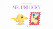 Mr. Unlucky Official Title Card