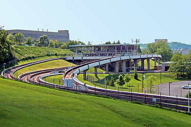 File:375px-Morgantown Personal Rapid Transit - West Virginia University - Evansdale.jpg