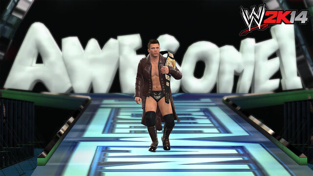 File:Wwe 2k14 screenshots wm27 the miz vs john cena by thexrealxbanks-d6n1o05.jpg