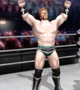 Sheamus alternate attire