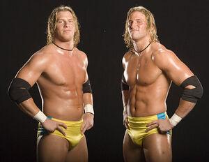 Zack Ryder and Curt Hawkins