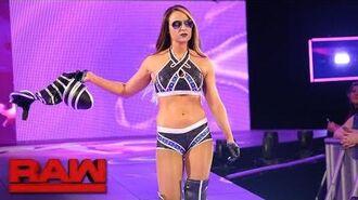 Emma returns to Raw- Raw, June 12, 2017