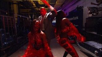 Mr. McMahon gets down with Cameron & Naomi- Raw, June 11, 2012