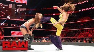 Mickie James vs. Emma- Raw, Aug. 14, 2017