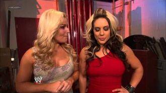 Things heat up between Kaitlyn and AJ Lee- SmackDown, May 10, 2013