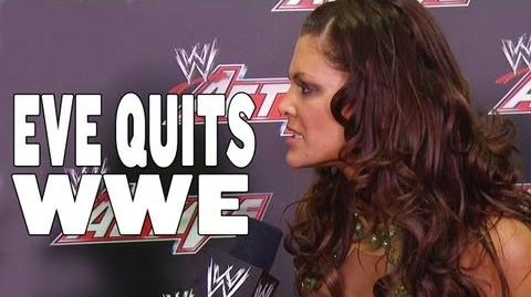 EVE QUITS WWE! - WWE Active Exclusive, January 14, 2013