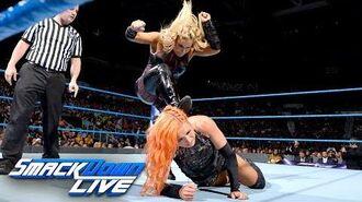 Becky Lynch vs. Natalya- SmackDown LIVE, Aug. 15, 2017
