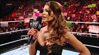Raw- Eve blows off Kelly Kelly