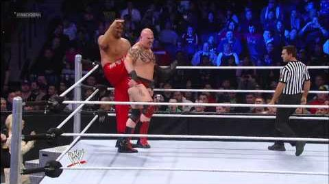 The Great Khali vs. Tensai SmackDown, Jan