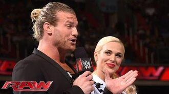 Dolph Ziggler and Lana go public- Raw, June 29, 2015