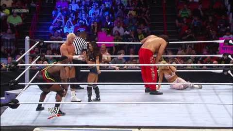 The Great Khali & Natalya vs. Dolph Ziggler & AJ Lee SmackDown, Jan