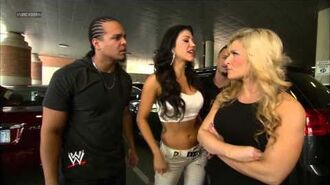 Natalya and Rosa Mendes have a parking lot dispute- SmackDown, April 19, 2013