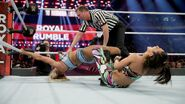 Charlotte as being submitted by Bayley