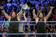 Usos wins the SD Tag Team Champion