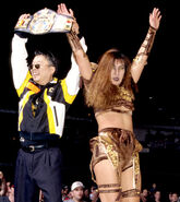 Toshie as WCW Womens Champion