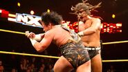 CJ-Parker attacking Crowe
