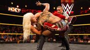 Liv-Morgan submitting Ember-Moon