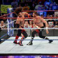 Sami-Zayn now fighting Styles