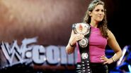 Stephanie as the Womens Champion